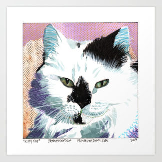 """Kitty Pop"" Art Print"
