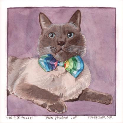 Mr. Rick Pickles - Cat Portrait