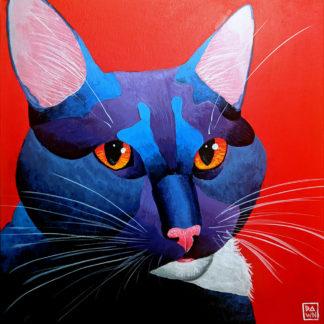 Meowse Pop, Acrylic Painting