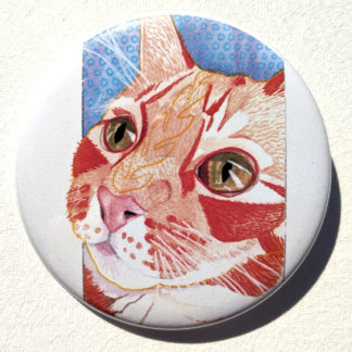"""Alfie Loafing Master 2.25"""" Button Pin"""