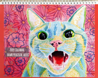 2020 Art Calendar by Dawn Pedersen