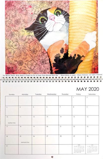 2020 Art Calendar by Dawn Pedersen: May