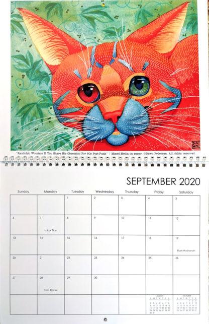 2020 Art Calendar by Dawn Pedersen: September