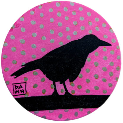 crow 1 ornament without ribbon