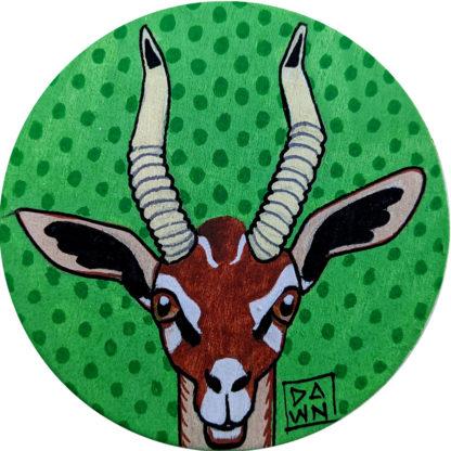 gerenuk antelope ornament without ribbon