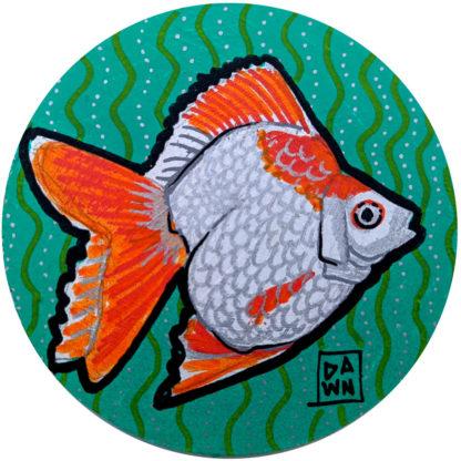 goldfish 1 ornament without ribbon